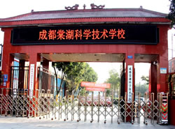 成都棠湖科学技术学校图片