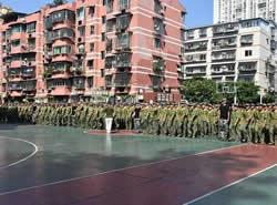 四川省泸州市江南职业中学校图片