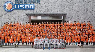 重庆热篮篮球培训图片