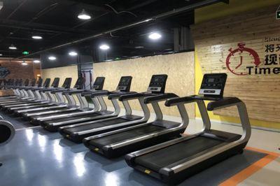 西安德西健身教练培训学校图片