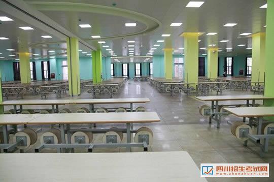 四川西南航空职业学院温暖舒适的就餐环境
