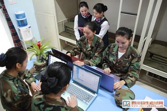 四川西南航空职业学院温馨舒适的学生公寓