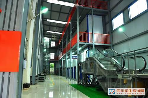 四川省工业贸易学校(公办)电梯工程实训室