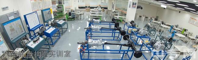 四川希望汽车技师学院汽车底盘构造实训室