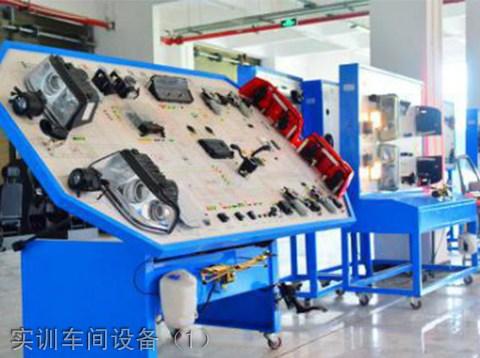 成都五月花学校汽车维修专业实训车间设备(1)