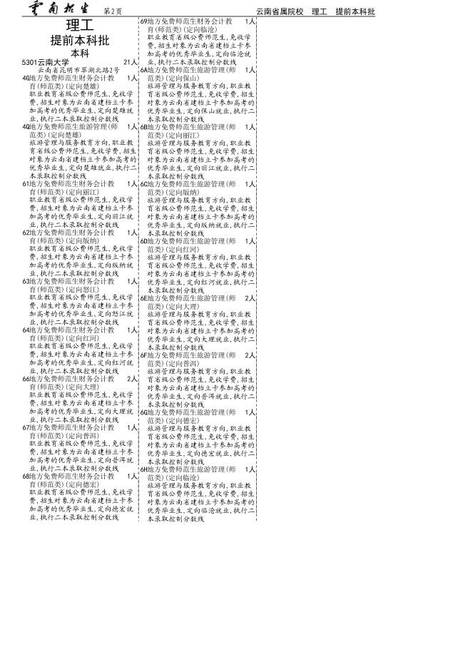 云南高考补充2