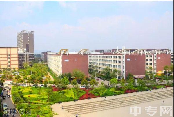 云南商务职业学院远眺校园
