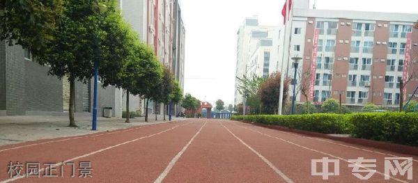中国五冶大学(高新校区)-校园正门景