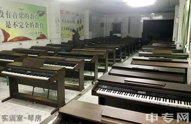 成都华夏旅游商务学校-实训室-琴房