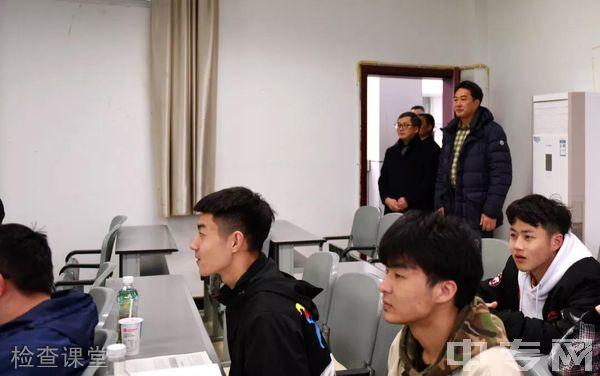 西南医科大学附属医院卫生学校(泸州卫校)检查课堂