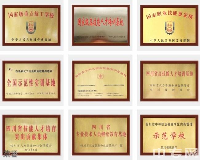 四川理工技师学院荣誉
