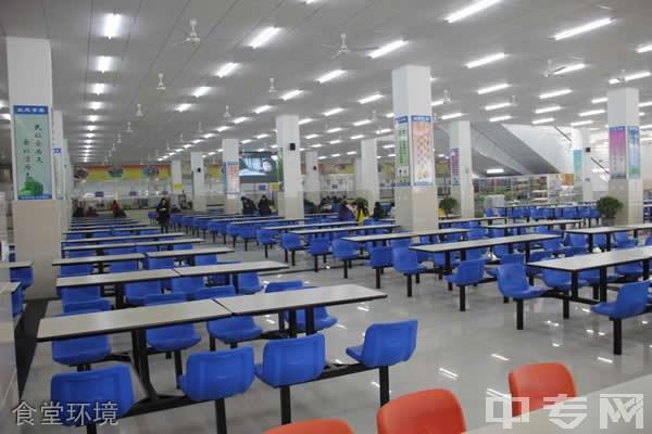 成都纺织高等专科学校[专科]-食堂环境
