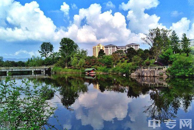 重庆能源职业学院绿水蓝天