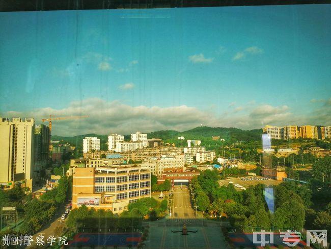 贵州警察学院俯拍