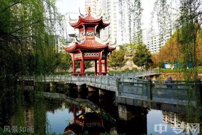 贵州电子信息职业技术学院风景如画