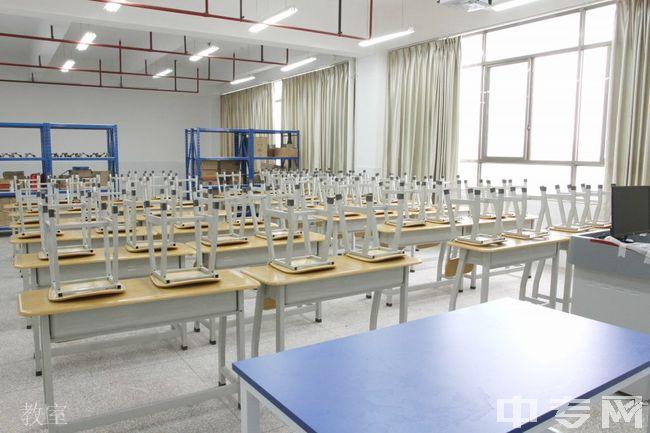 曲靖职业技术学院教室
