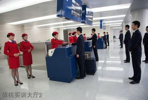 四川西南航空职业学院-值机实训大厅2
