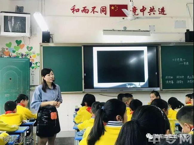 简阳市实验中学阅读教学