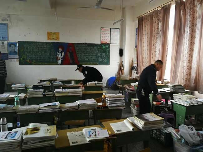 奇章中学教室 (2)