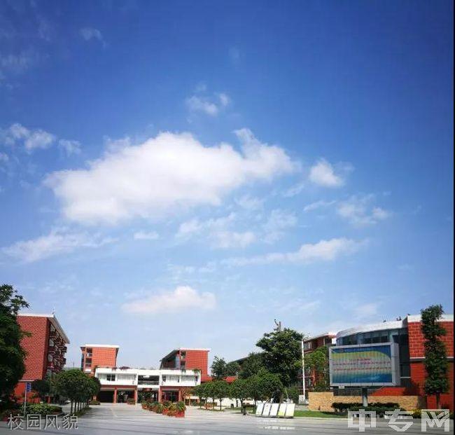 成都经济技术开发区实验中学校校园风貌