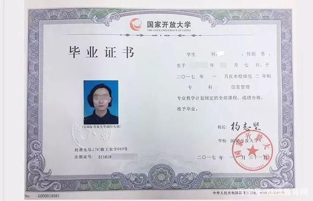 电大毕业证