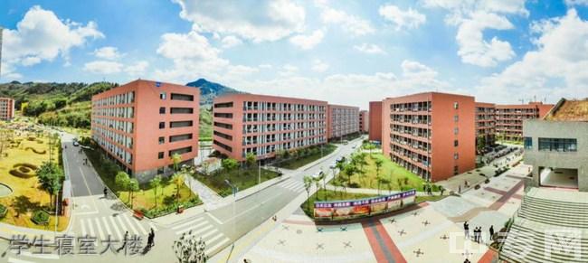 四川科技职业学院天府校区学生寝室大楼