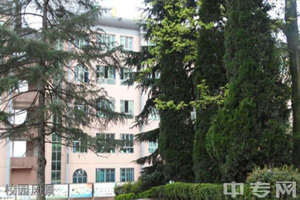 遵义播州区鸭溪中学校园风景