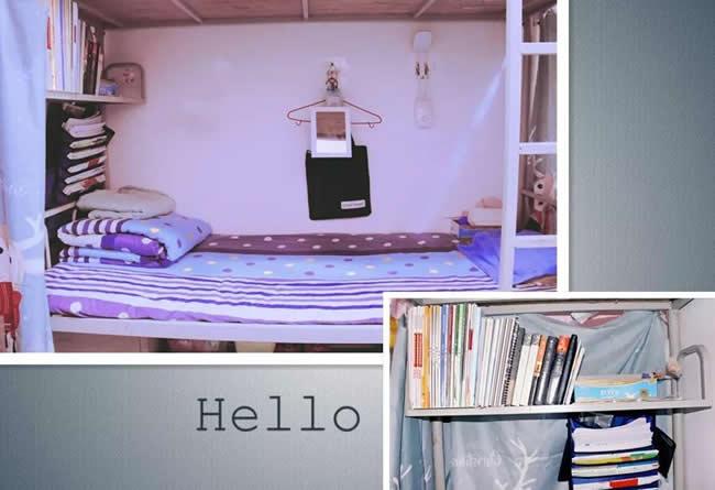 西安市五环中学校园寝室1