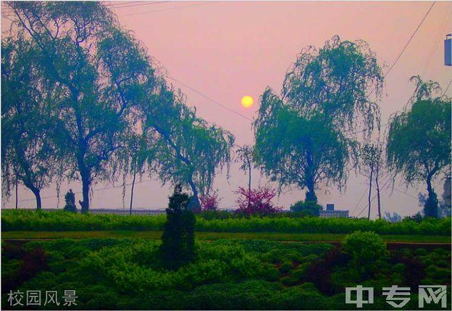 云南省富源县第一中学校园风景