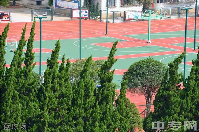 宜威市民族中学篮球场