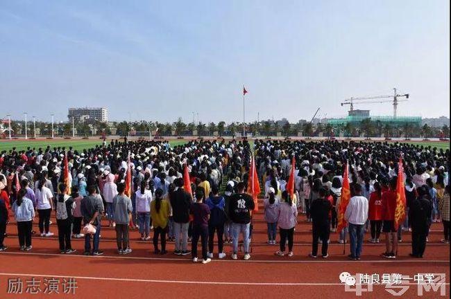 陆良县第一中学励志演讲