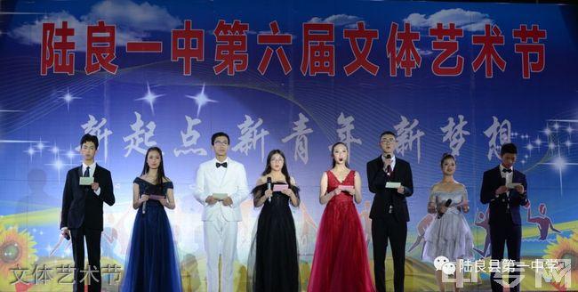 陆良县第一中学文体艺术节