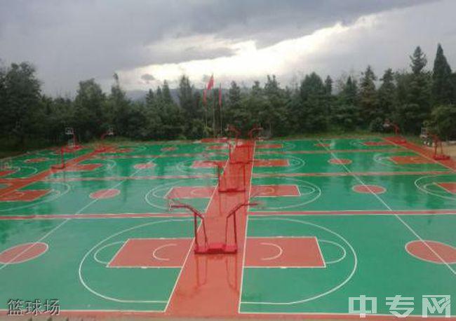 昆明卧云山高级中学篮球场