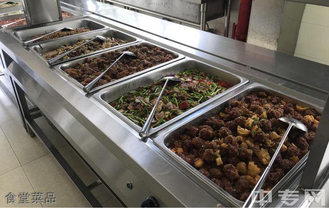 昆明卧云山高级中学食堂菜品