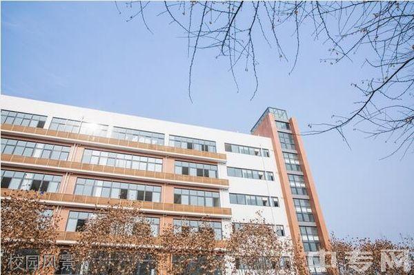 四川省工业贸易学校校园风景