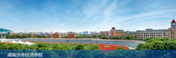 湖南涉外经济学院123
