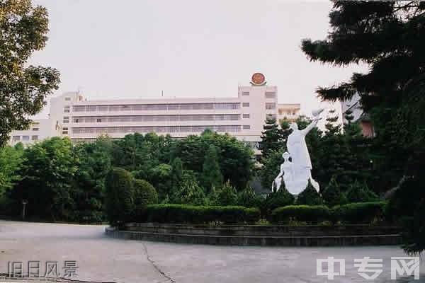福建省邮电学校旧日风景