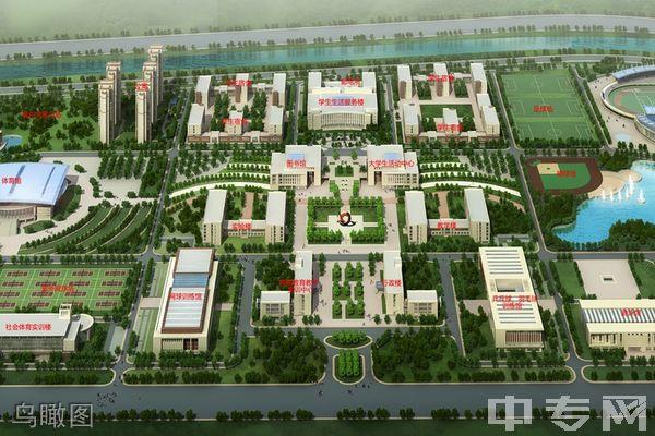 天津体育学院成人教育-鸟瞰图