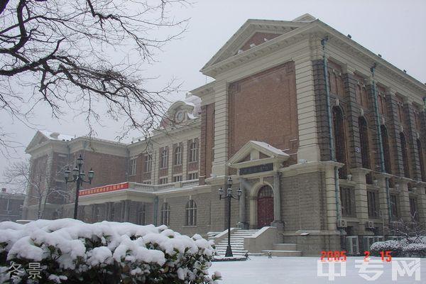 天津外国语大学继续教育学院-冬景