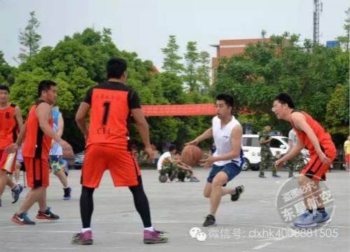 【体育赛事】我院与金马派出所篮球联谊赛